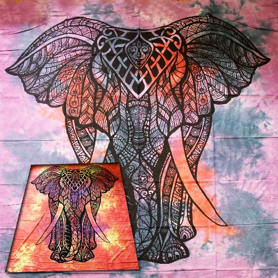 Покрывало хлопковое Слон 210х240 см ( 2 кг )