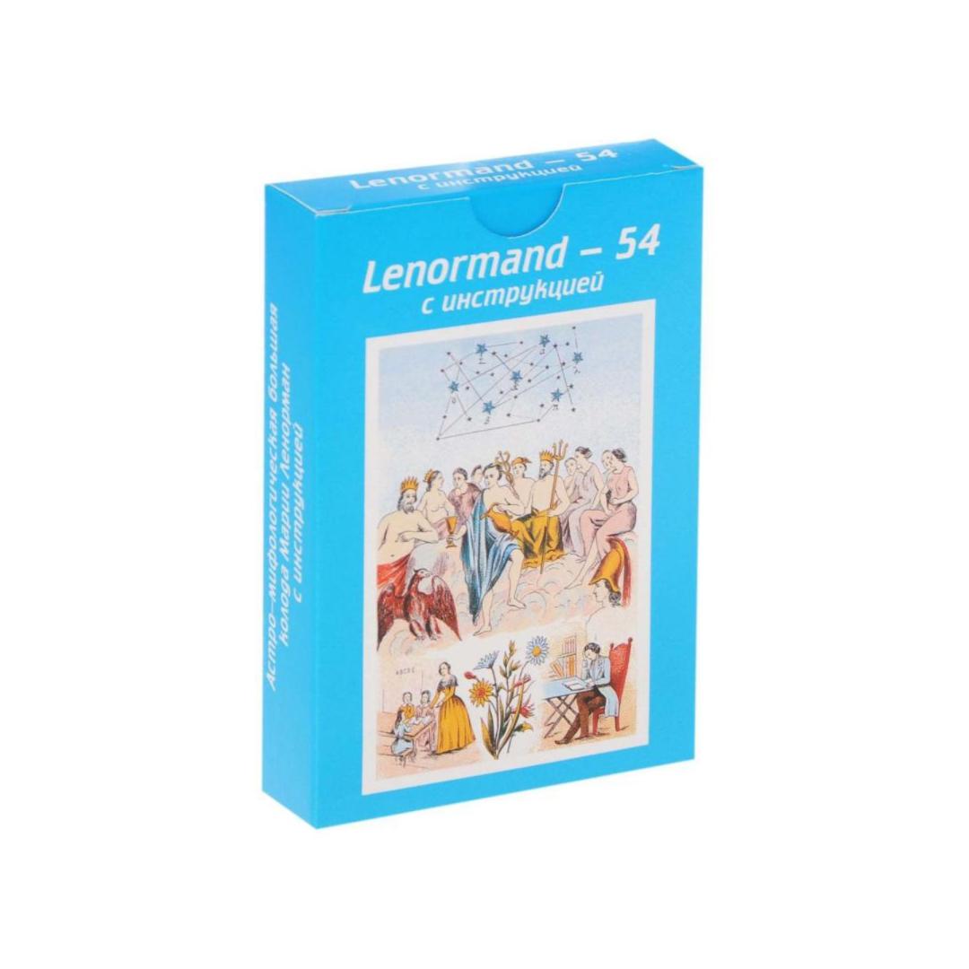 цена на Карты Таро Ленорман-54 голубые (Ленорман-54)
