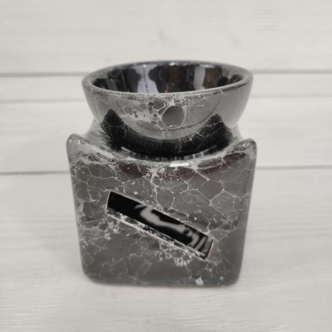 цена Аромалампа керамическая квдратная с чашей 6,5 см (0,1 кг) онлайн в 2017 году