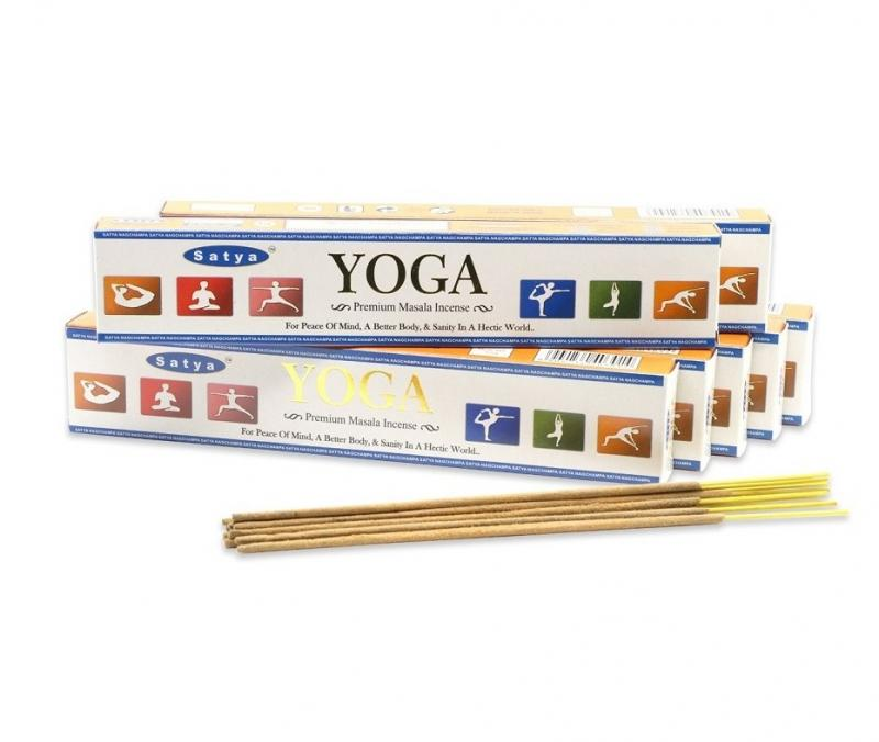 Благовония Йога Сатья Premium/ Yoga Satya (15 г)