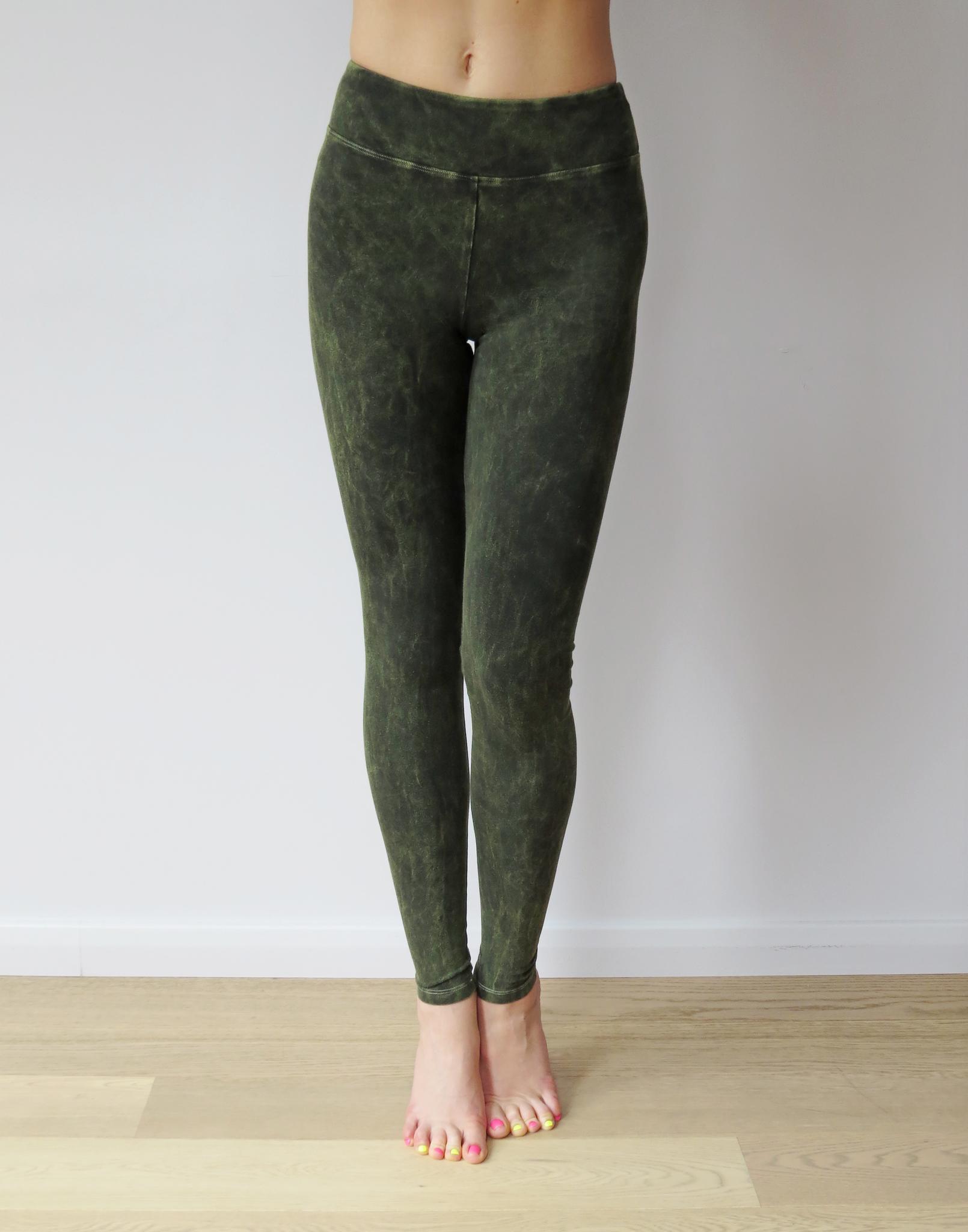 Леггинсы Forest YogaDress (0,3 кг, L(48), зеленый)