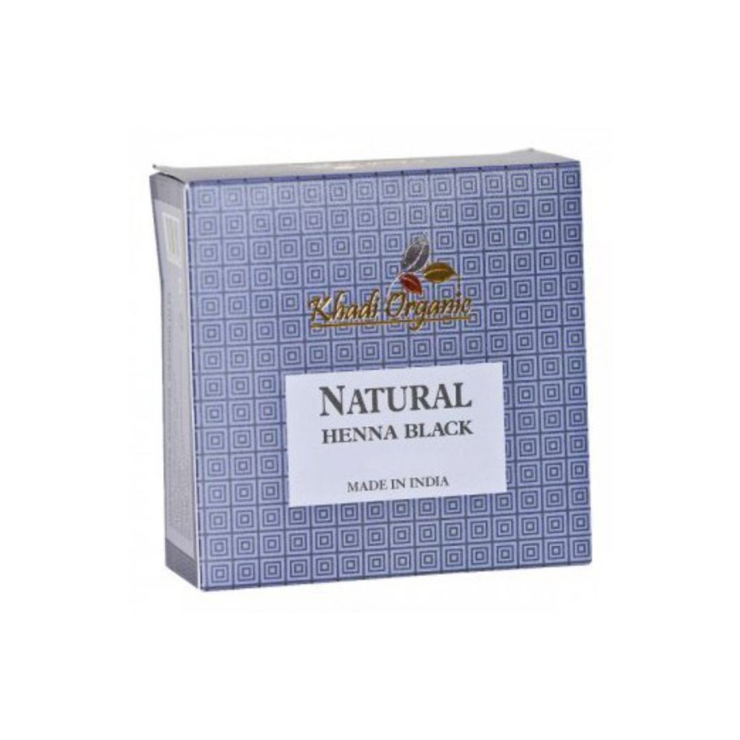 Хна для волос черная Khadi Organic (150 г)
