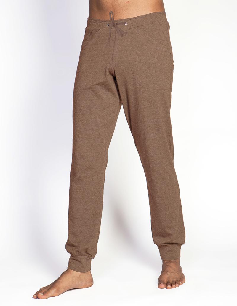 Штаны мужские Atman YogaDress (0,3 кг, L (50), коричневый) glo story повседневные брюки мужские штаны для брюк штаны halle harvest брюки lxk71093 black l