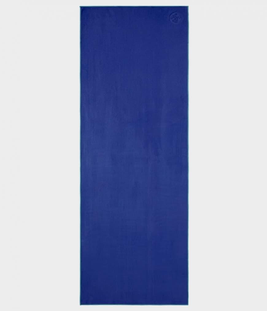 Полотенце Manduka Yoga Mat Towel (0,7 кг, 183 см, темно-синий, 67 см (midnight))