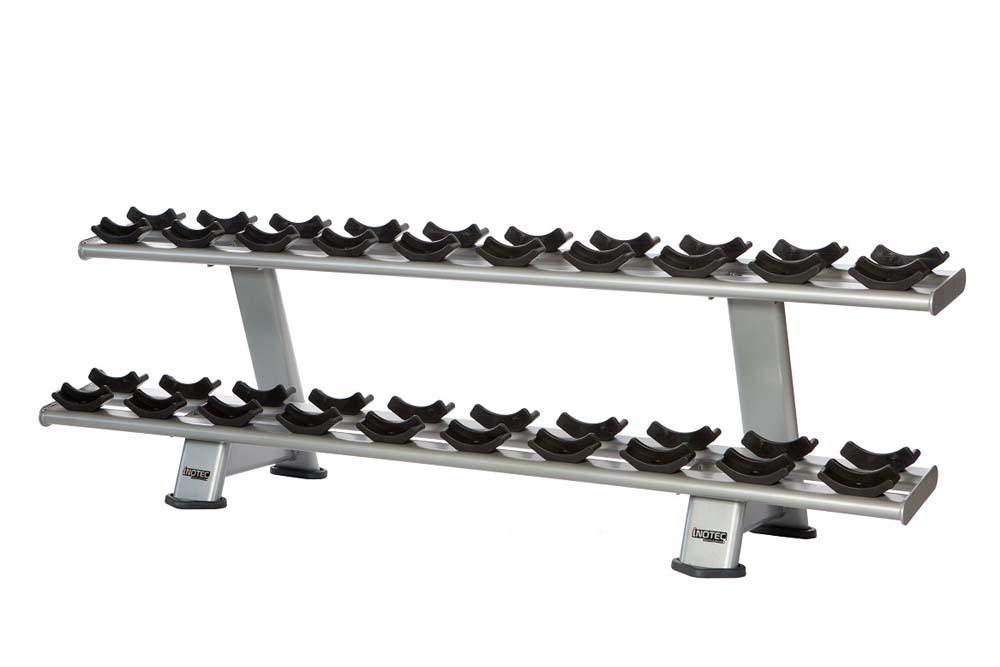 Двухъярусная стойка для гантелей (Е34 Двухъярусная стойка для гантелей)