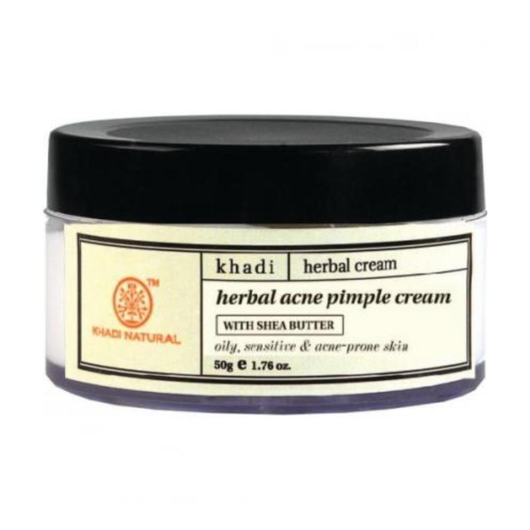 Крем для лица аллергичной и проблемной кожи (сухость, акне) acne pimple Khadi Natural (50 г)
