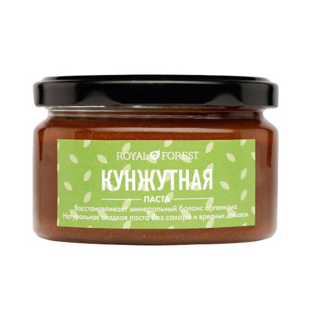 Кунжутная паста Royal Forest (200 г) macedonian tahini паста тахини кунжутная с какао 350 г