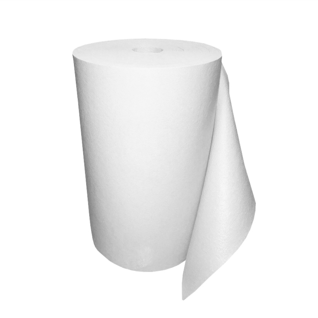 Коврик для йоги в бухте Yin-Yang Studio OM (10,9 кг, 30 м, 3 мм, белый, 60см)
