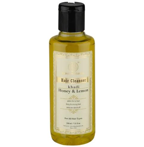 Шампунь мед лимонный сок Khadi Natural (210 мл)