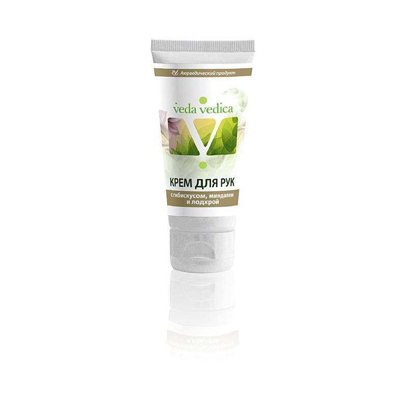Крем для рук 3 травы (с Гибискусом,Миндалем и Лодхрой) 50г Veda Vedica ( Veda Vedica ) масло от простуды цитрусовое с имбирем и тулси veda vedica