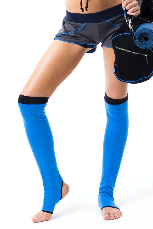 Гетры для йоги универсальные Голубые Savasana savasana костюм для йоги