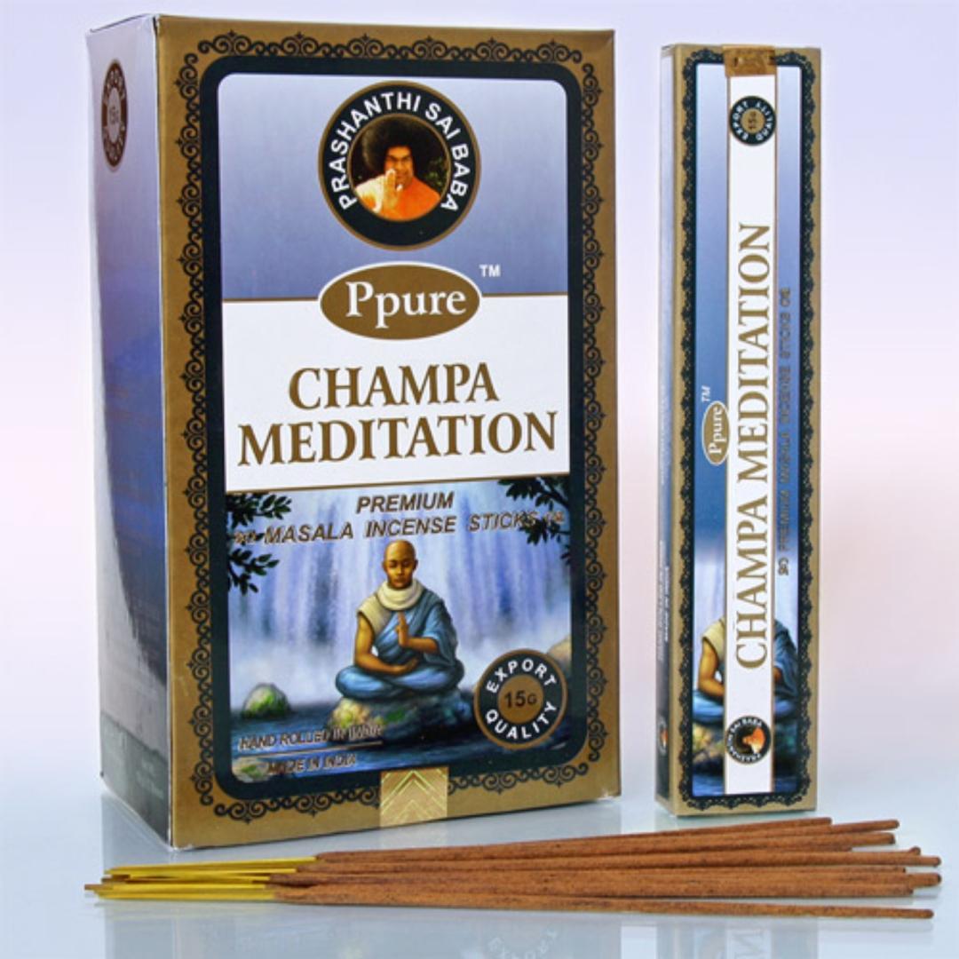 Благовония медитация meditation Ppure (0.1 кг, 15 г) благовония лаванда lavender ppure