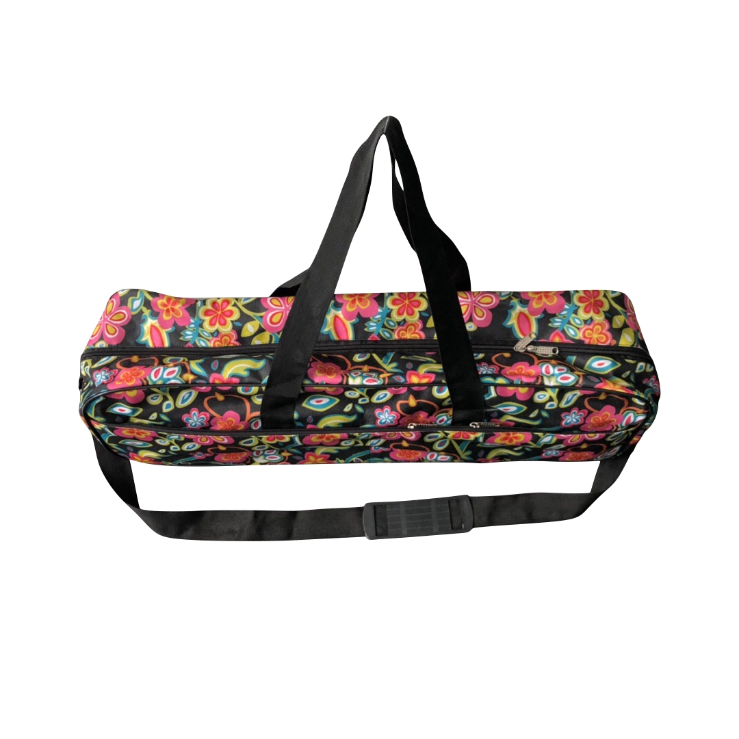 Сумка для йога-коврика Гаруда Flower Рамайога (0.5 кг, 19 см, 70 см, ассорти, 17 см)