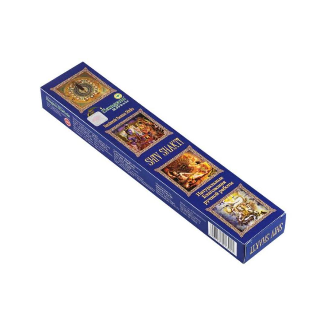 Благовония Шива-Шакти Sangam herbals (15 г) благовония масала мирра myrrh masala hem 0 05 кг 15 г