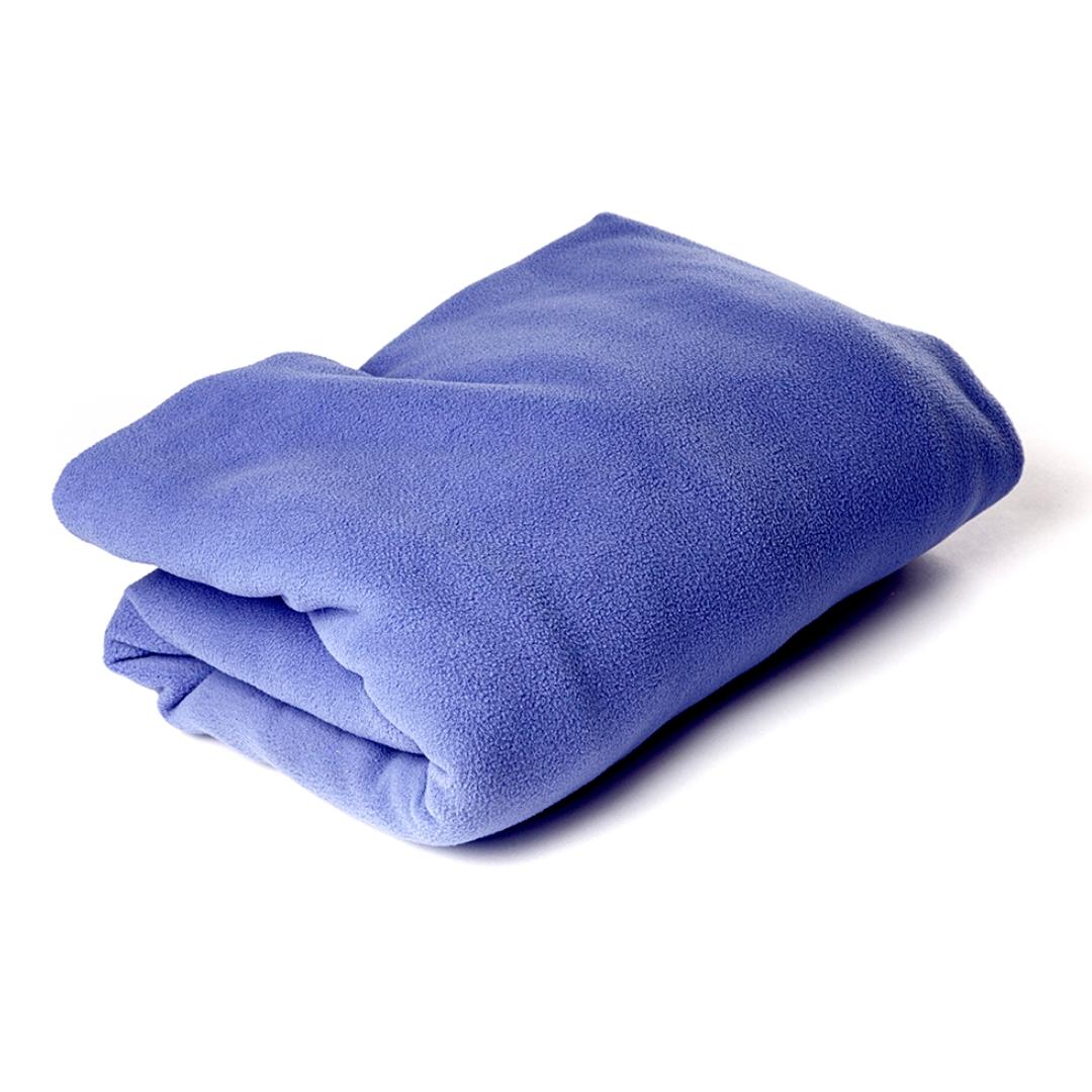 Плед Сурья для шавасаны, нидры и релаксации (200 см, синий, 150см)