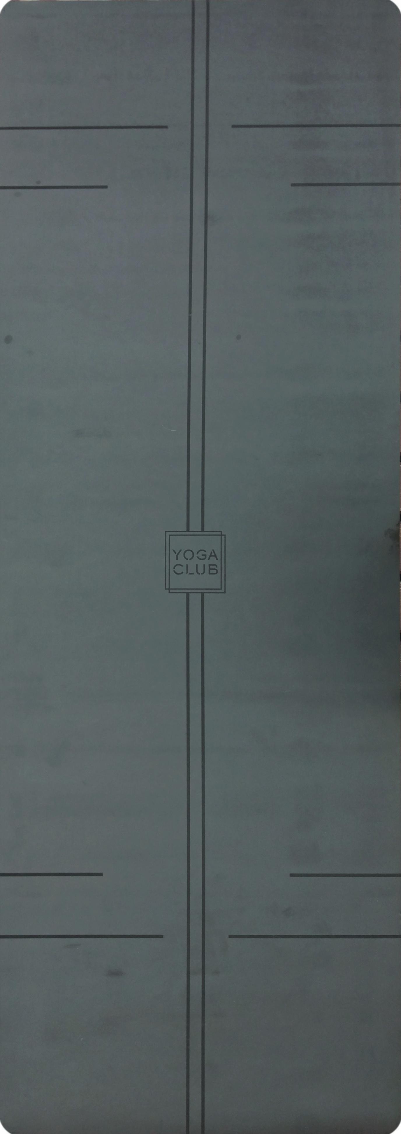Коврик для йоги Pro YC из полиуретана и каучука (2,3 кг, 185 см, 4.5 мм, черный, 68см) цена