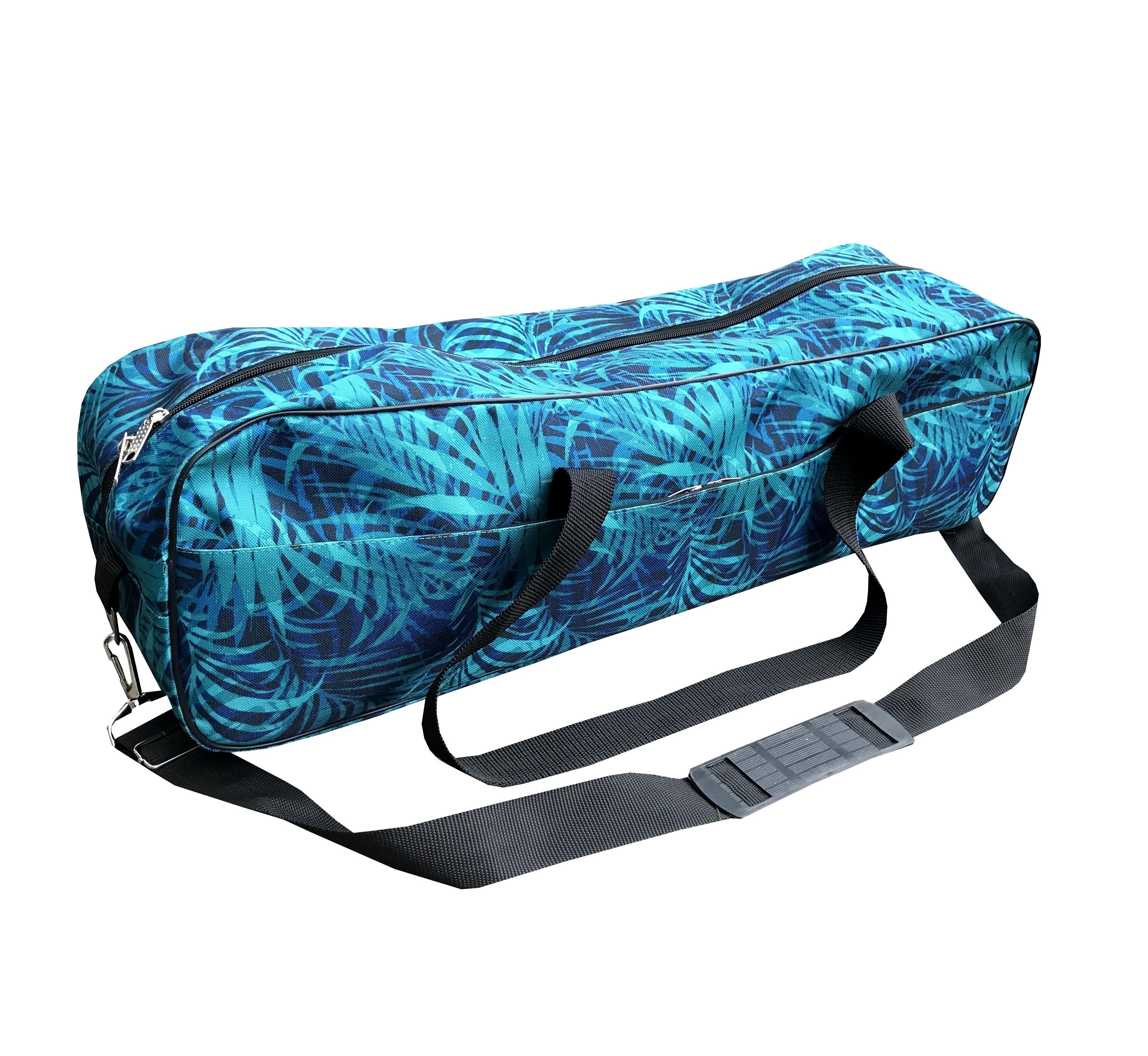 Сумка для йога-коврика Гаруда, папоротник (зеленый)