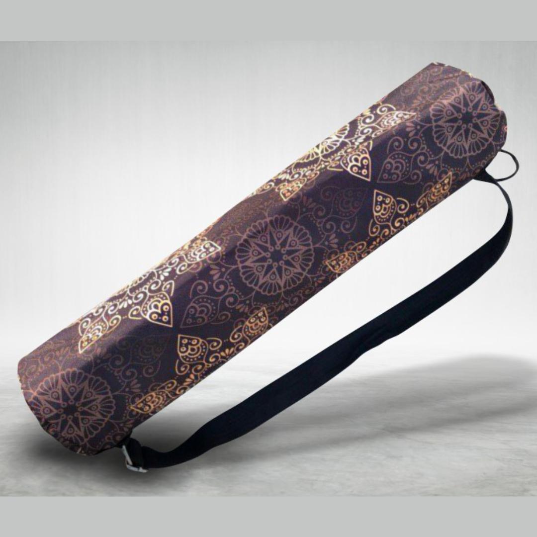 Чехол для коврика Fantasy Yoga mandala (0,2 кг, темно-коричневый)