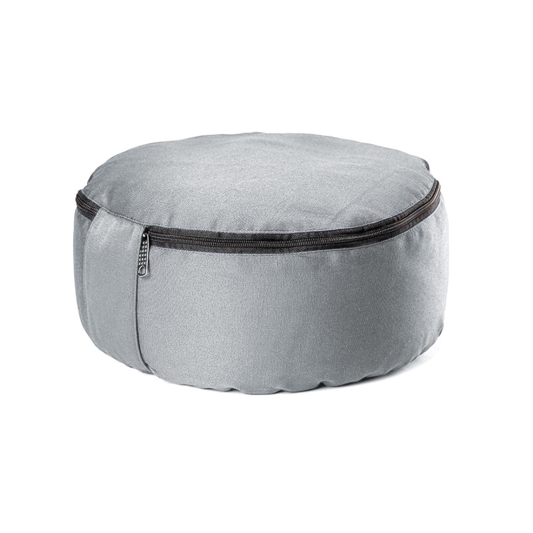 Подушка для медитации Simple (2.5 кг, серый) подушка для медитации simple 2 5 кг зеленый
