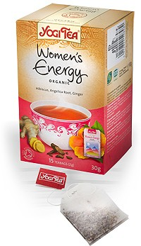 Йога чай Активная женщина \ Yogi Tea Womens Energy
