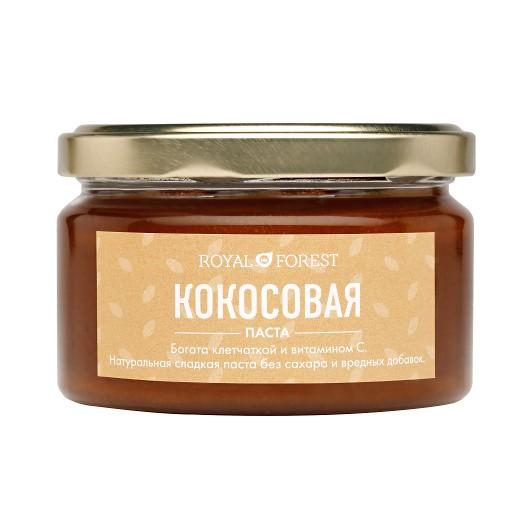 цена Кокосовая паста Royal Forest (200 г)