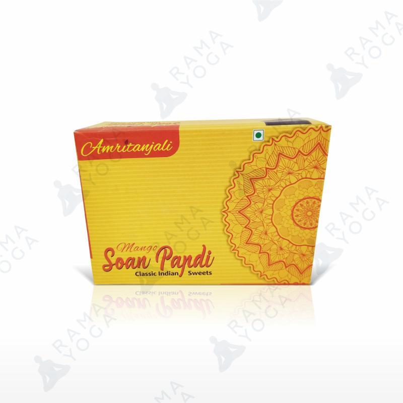 Индийская халва Соан папди с манго Золото Индии (250г)