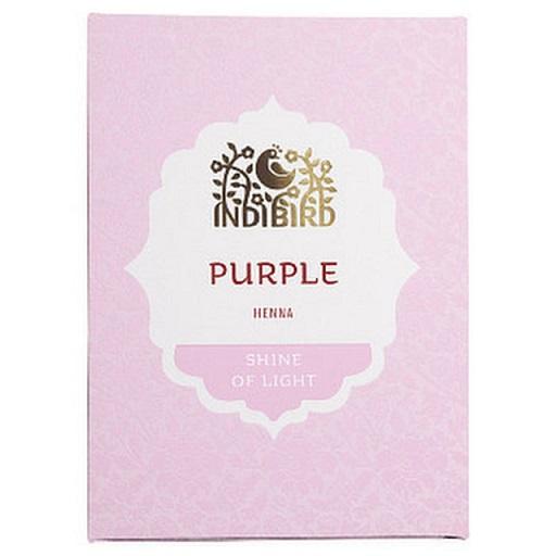 Хна для волос натуральная пурпурная Indibird индийская хна аша купить в владивостоке