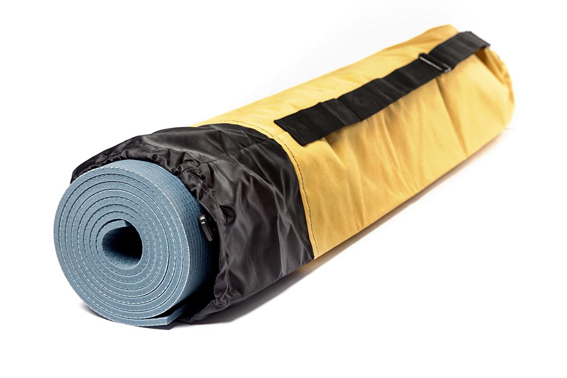 Чехол для коврика Инь Янь однотонный желтый (0,3 кг, 16 см, 80 cм, желтый)