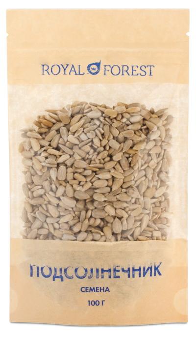 Семена подсолнечника Royal Forest фрутоняня пюре из груш с 4 месяцев 12 шт по 100 г