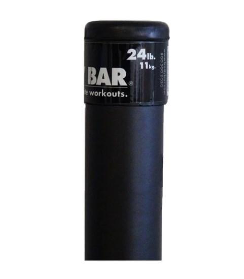 Гимнастическая палка The Body Bar Classic 10,9 кг Precor (10,9 кг, 123 см)