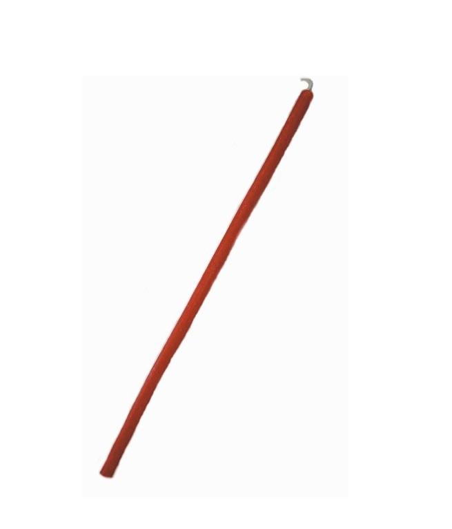 Свеча восковая 10 см красная (пасч03 0,05 кг, красный)