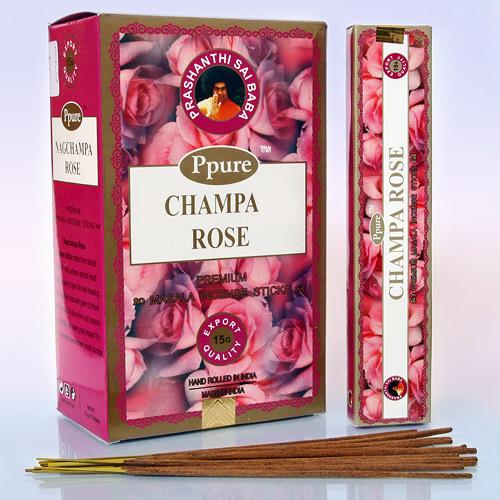 Благовония роза rose Ppure (15 г) аромапалочки афродезия hexa hem 20 г