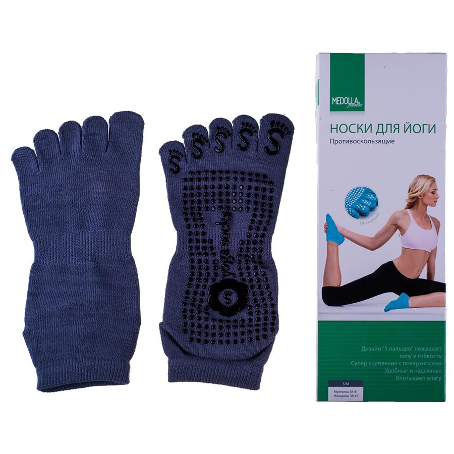Носки для йоги 5 пальцев Medolla