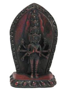 Статуэтка Авалокитешвара 12 см, керамика (12 см)