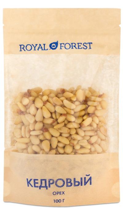 Кедровый орех Royal Forest ( Royal Forest 100 г ) добрый яблочный сок 1 л