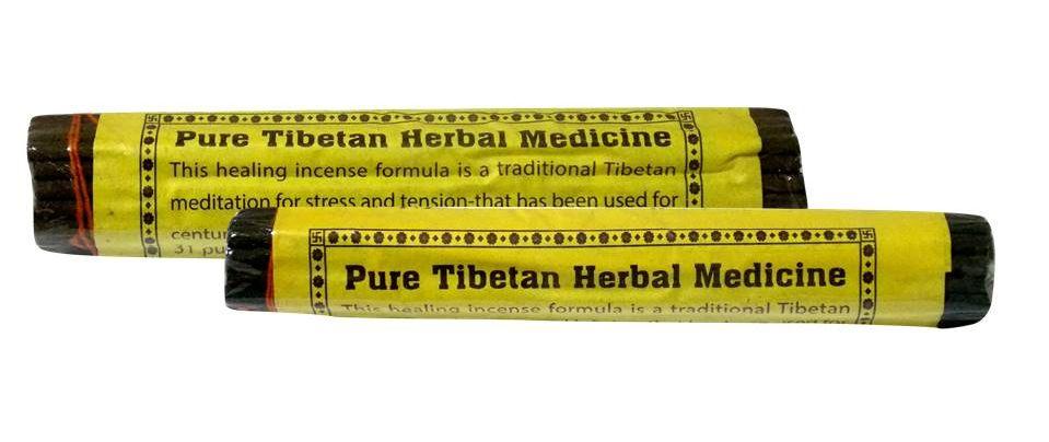 Благовоние Pure Tibetian Herbal Medicine (0,05 кг, 14 см, 25 шт) herbal muscle