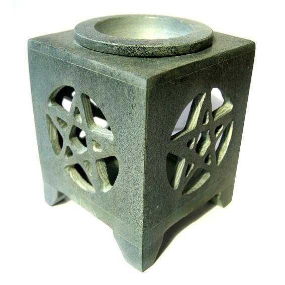 Аромалампа каменная пентаграмма 8,5 см аромалампа шар