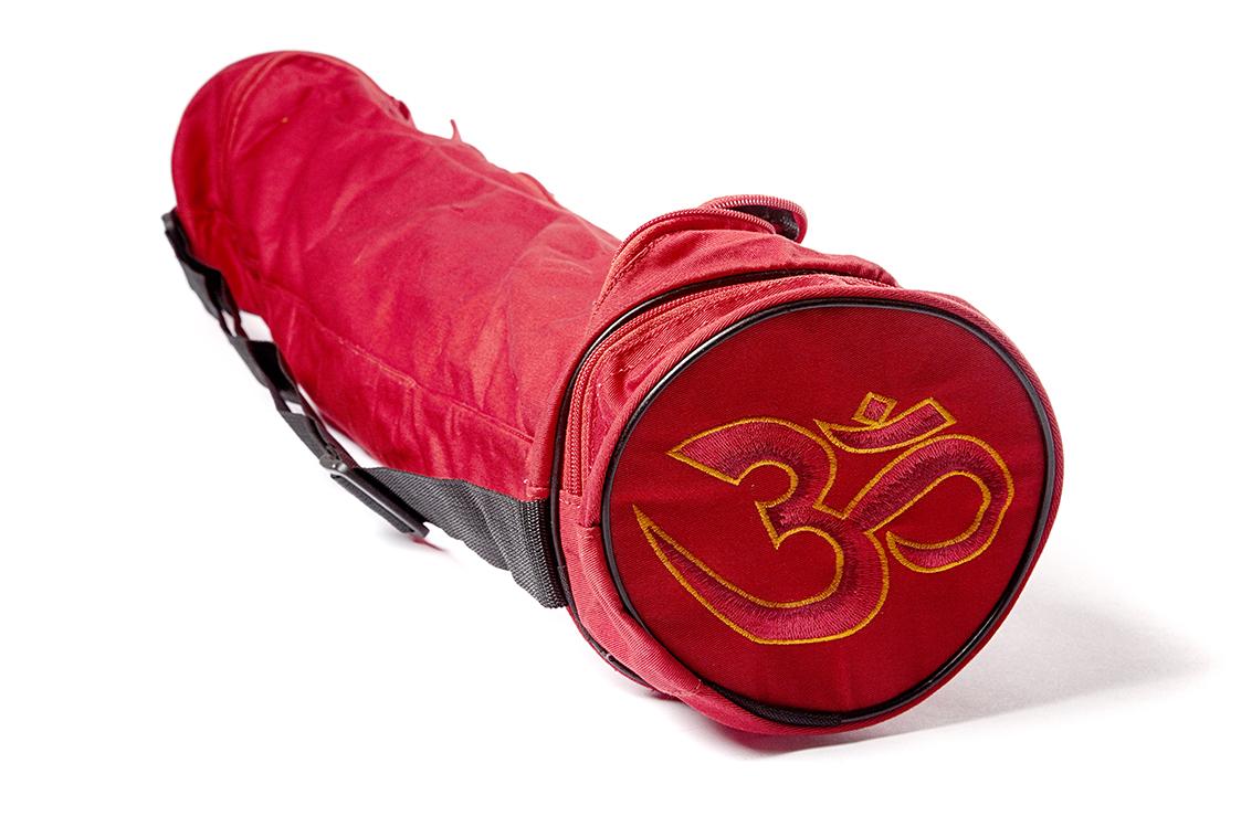 Чехол Асана Стандарт для йога коврика (15 см, 70 см, красный)