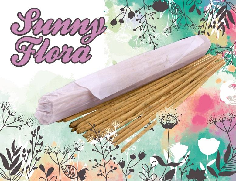 Благовония Храмовые Sunny Flora (0,05 кг) благовония hem gold rain золотой дождь 8 палочек