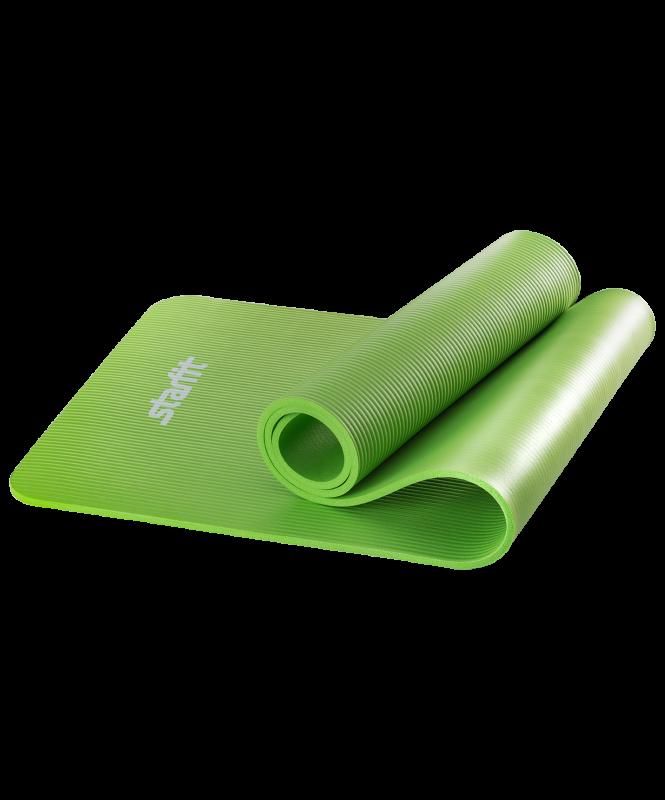 Коврик для йоги и фитнеса Yoga Star 1см (183 см, 1 серый, 60 см)