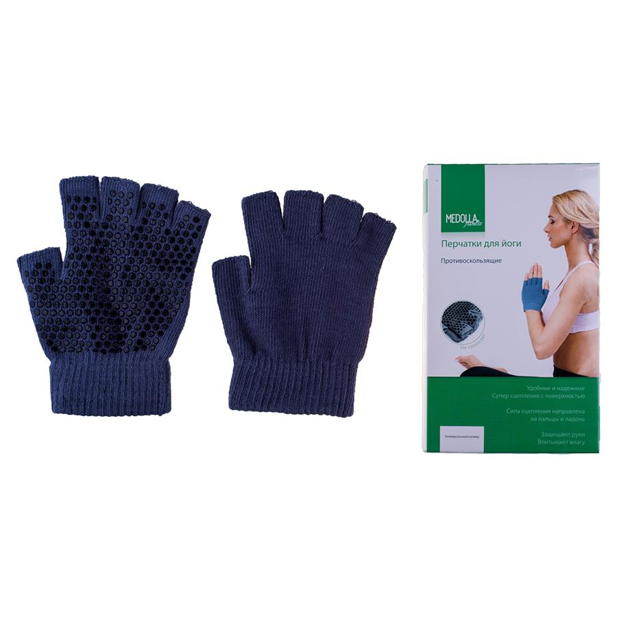 Перчатки для йоги антислип Medolla (5 пальцев) сердце йоги принципы построения индивидуальной практики