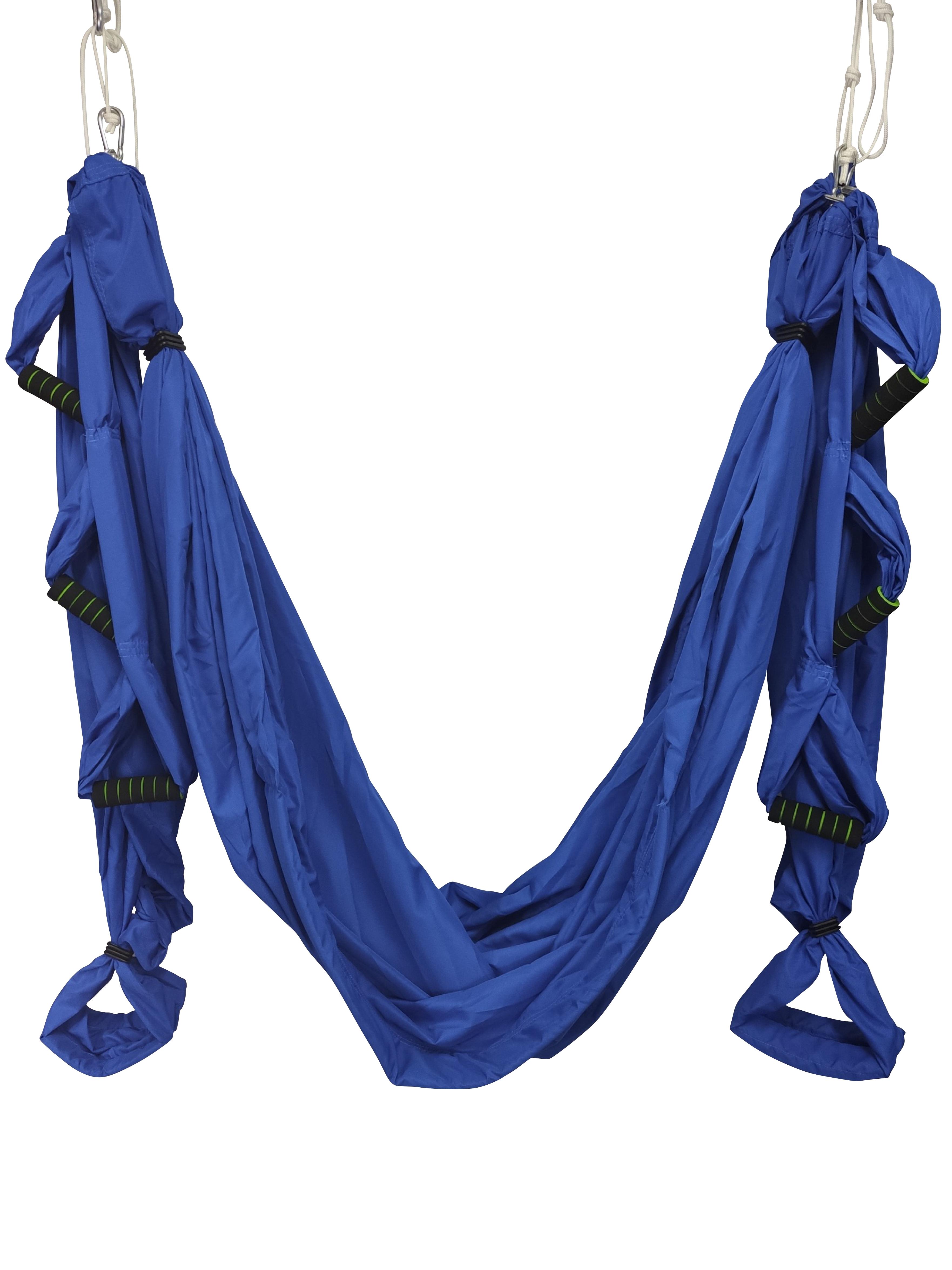 Йога-гамак Universal (1.6 кг, синий, 165 см) йога гамак universal pro 1 6 кг 270 см красный 160см