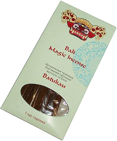 Благовония Magic Bali Batukau (Батукау) (14 см)