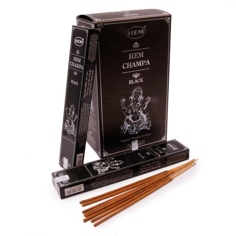 Благовония Чампа черная Mасала Хем / Champa black Masala HEM (15 г) благовония hem precious jasmine драгоценный жасмин 20 палочек