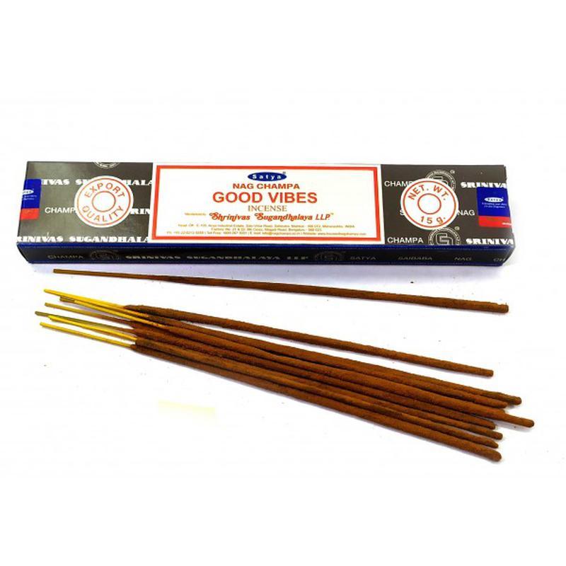 Благовония Хорошие Вибрации Сатья серия incense / Good Vibes Satya (15 г)