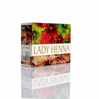 Краска натуральная на основе хны Светло-коричневая Lady Henna (60 г)