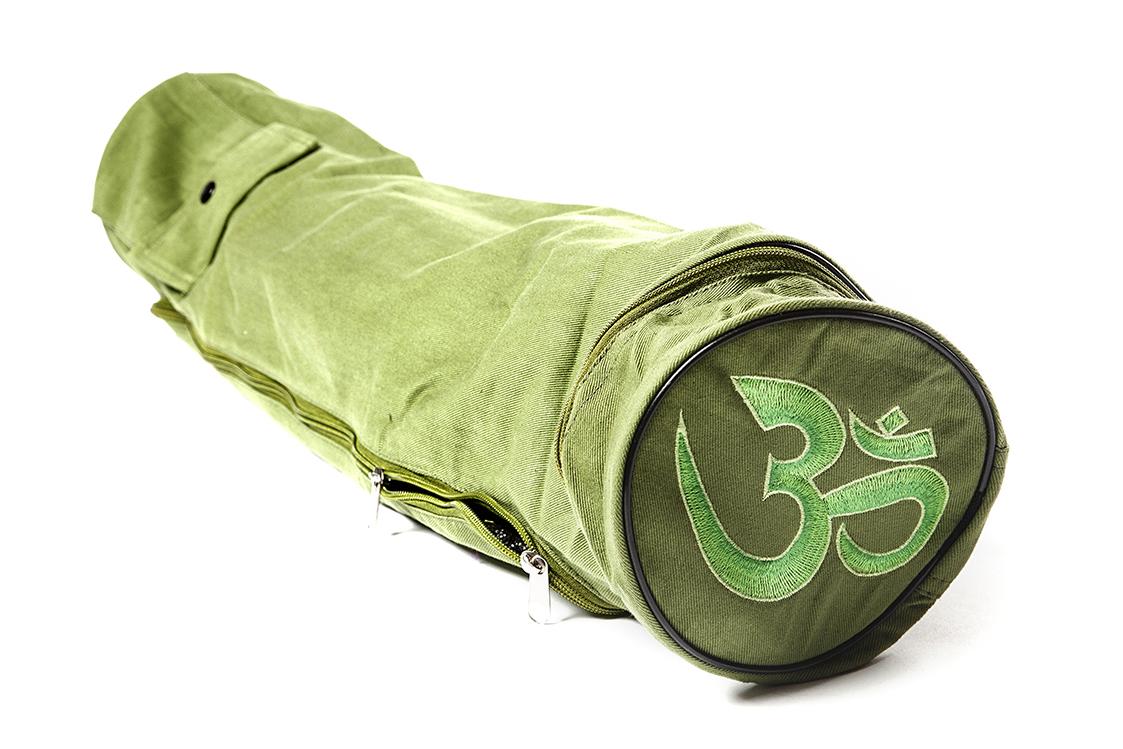 Чехол Асана Стандарт для йога коврика (15 см, 70 см, зеленый)