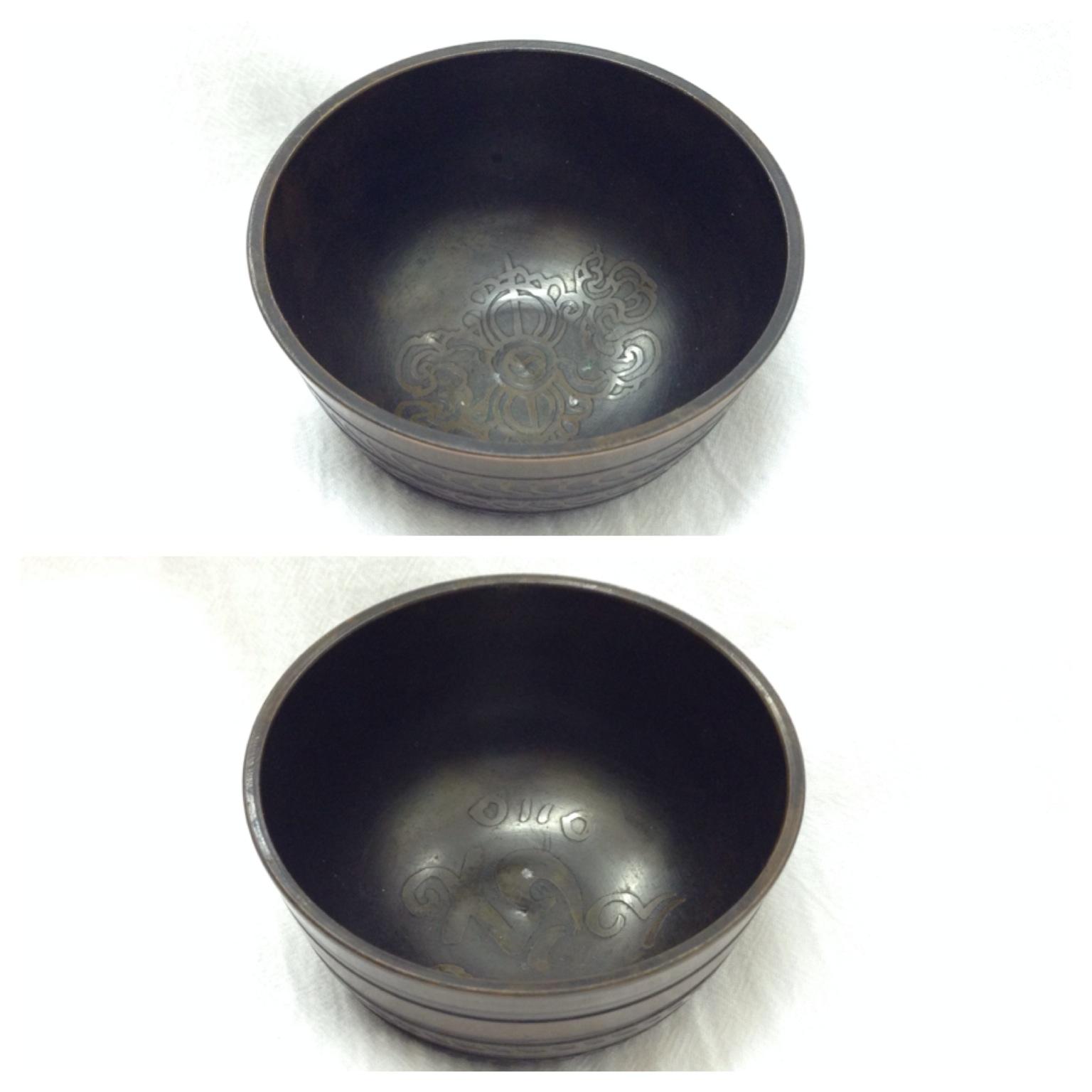 Чаша поющая медицинская бронзовая 8см (MDSB02)