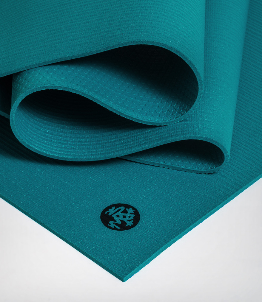 Коврик для йоги Manduka The PRO Mat 6мм (3.6 кг, 180 см, 6 мм, бирюзовый, 66см (Harbour)) 2017 new original ybn 11 speed diamond black mtb mountain road racing bike chain sla 110bg