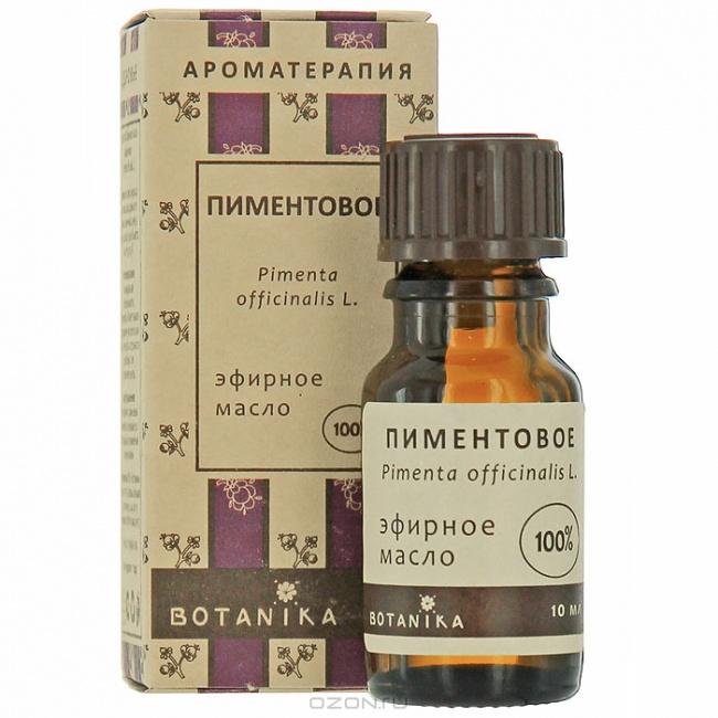 Пиментовое эфирное масло Ботаника (10 мл)